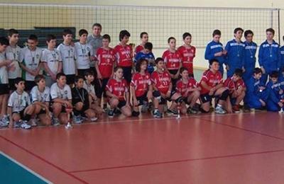 Съдействие при организирането на волейболен турнир за момчета (до 13 години)